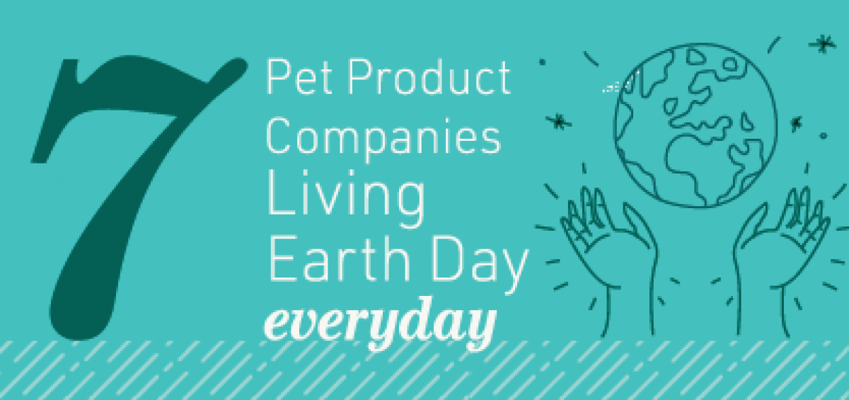 Pet Sustainability Earth Day 2020