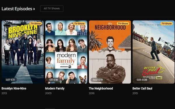 Screenshot of Nites TV App