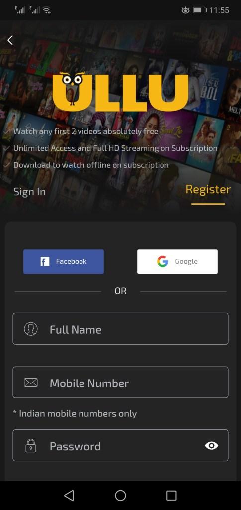 Screenshot Of Ullu Mod Apk