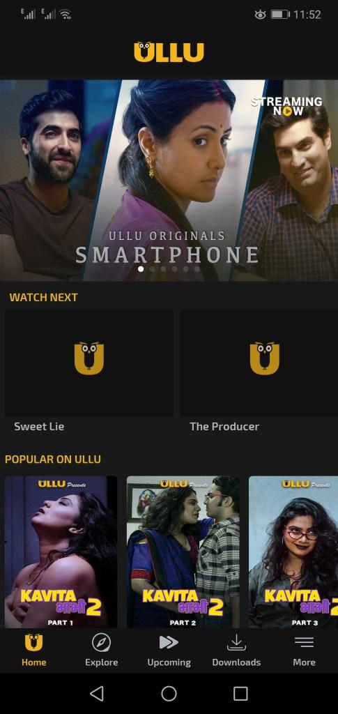 Screenshot Of Ullu Mod App Apk