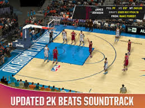 Screenshot of PBA 2k20