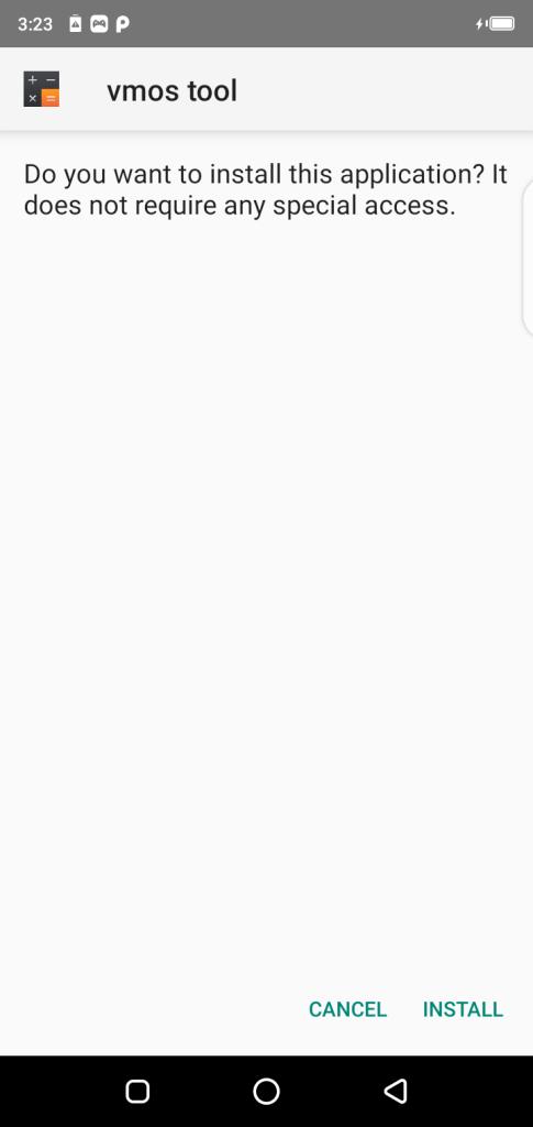 Screenshot of VMOS Unlocker