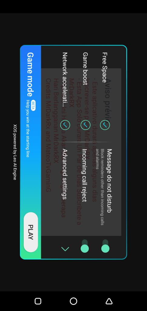 Screenshot of MRDARKRX Apk