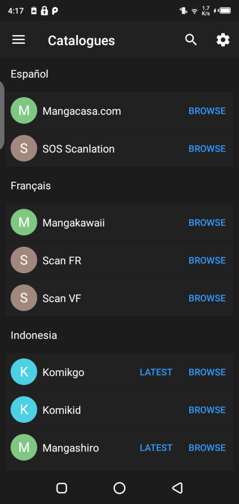 Screenshots of Solnovel  Apk