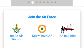 Screenshot of My IAF Apk