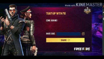 Screenshot of Kinemaster Free Fire Apk