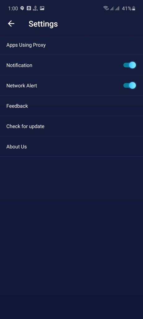Screenshot of Shoora VPN App Apk