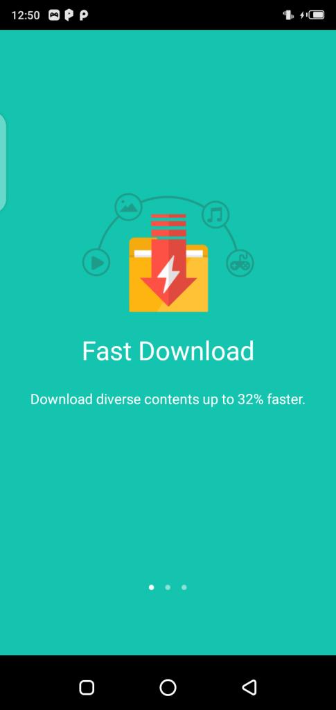 Screenshot Of UC Handler App