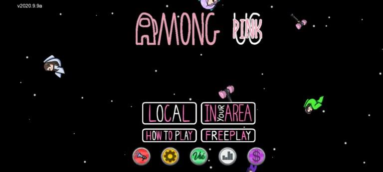 Screenshot of Among Pink App