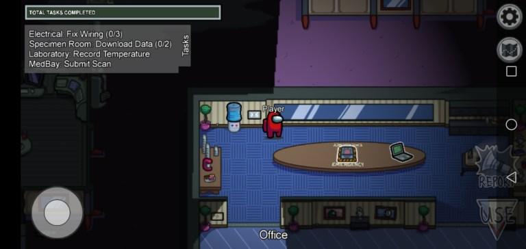 Screenshot of Among US All Pets and Skins Game