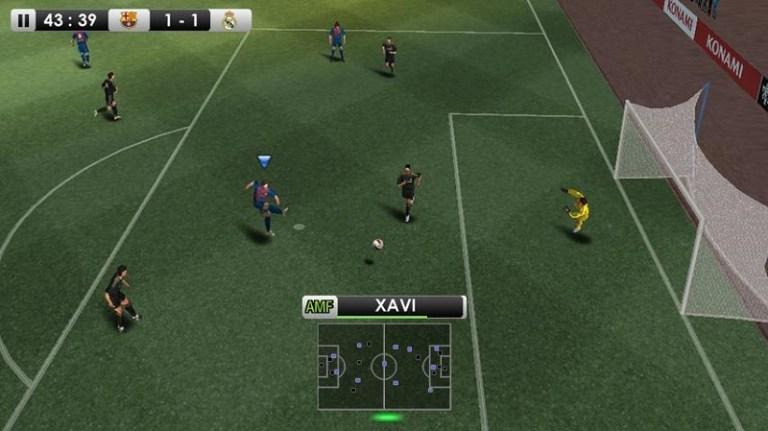 Screenshot of Winning Eleven 2012 Warkop
