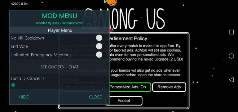 Screenshot of Among US Airship Map Game