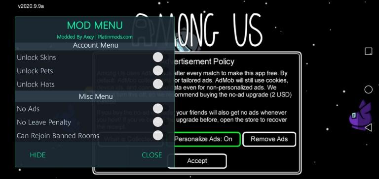 Screenshot of Among US Signed Apk