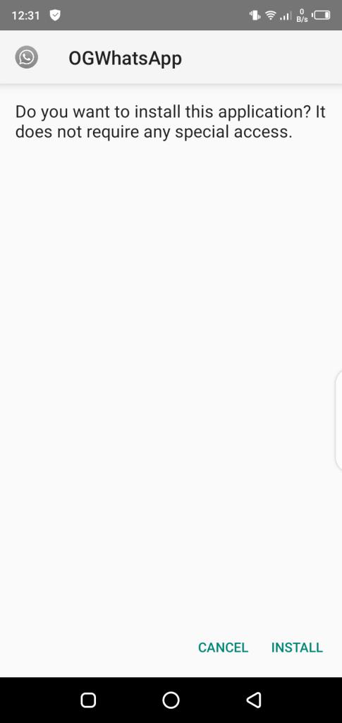 Screenshot of OG WhatsApp Pro