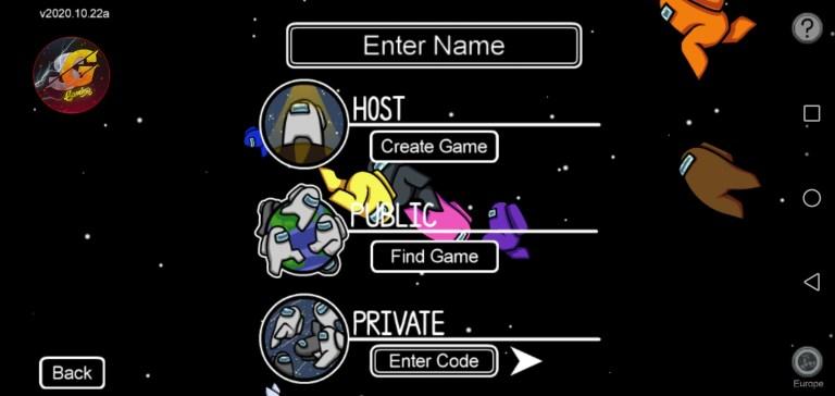 Screenshot of Sami Gaming Among US Mod