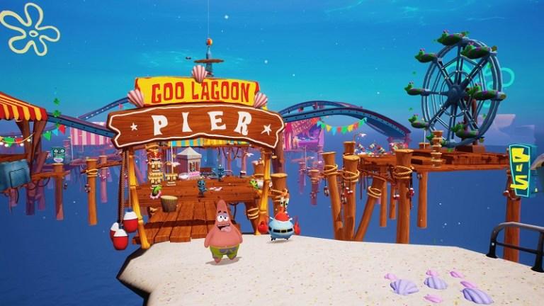 Screenshot of Spongebob Battle for Bikini Bottom