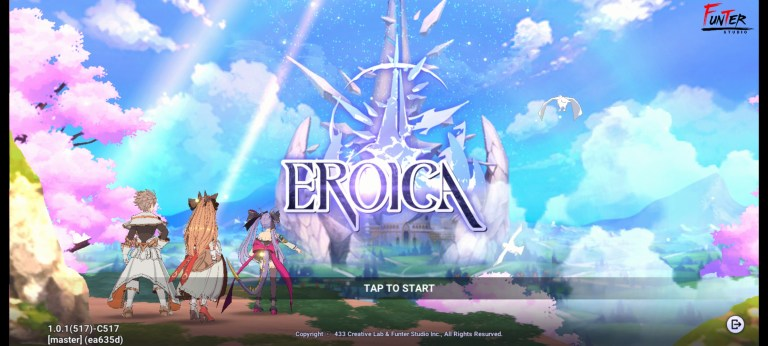 Screenshot of Eroica Game