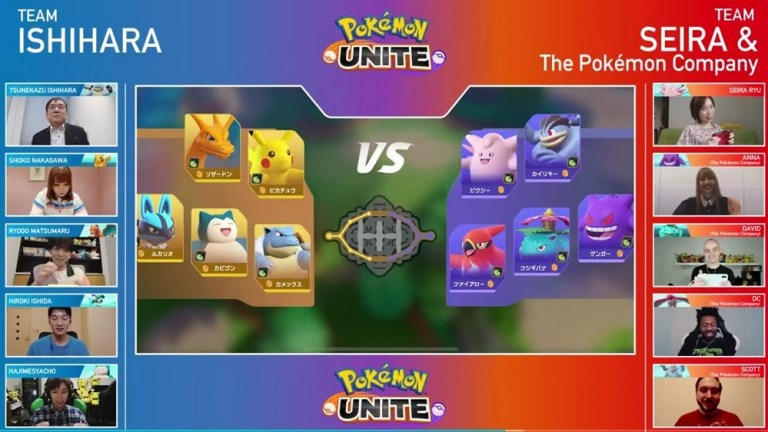 Screenshot of Pokémon Unite Apk
