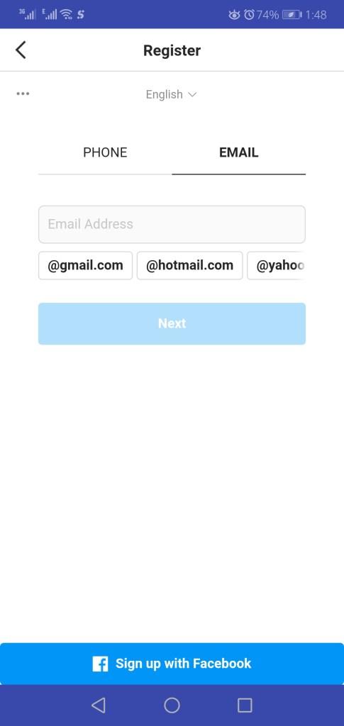 Screenshot of Top Follow App Apk