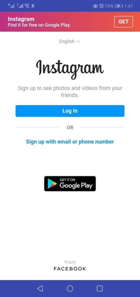 Screenshot of Top Follow App