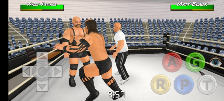 Screenshot of Wrestling Empire For Android