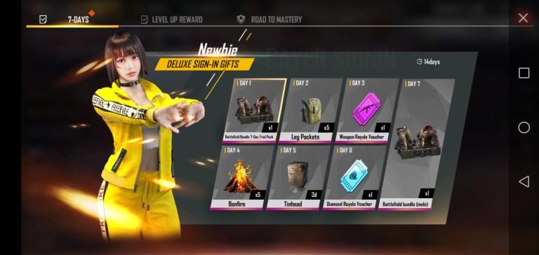 Screenshot of Mod Menu Free Fire 2021 App Apk