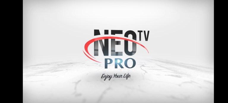 Screenshot of Neotv Pro 2 App