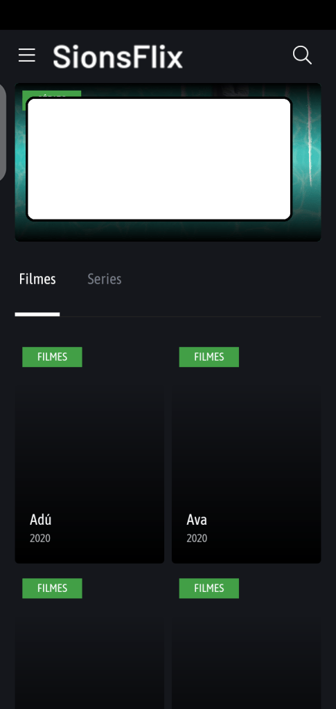 Screenshot of SionsFlix Apk
