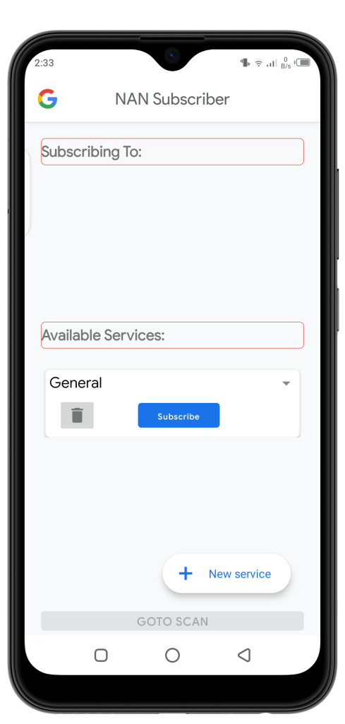 Screenshot of WifinanScan Apk