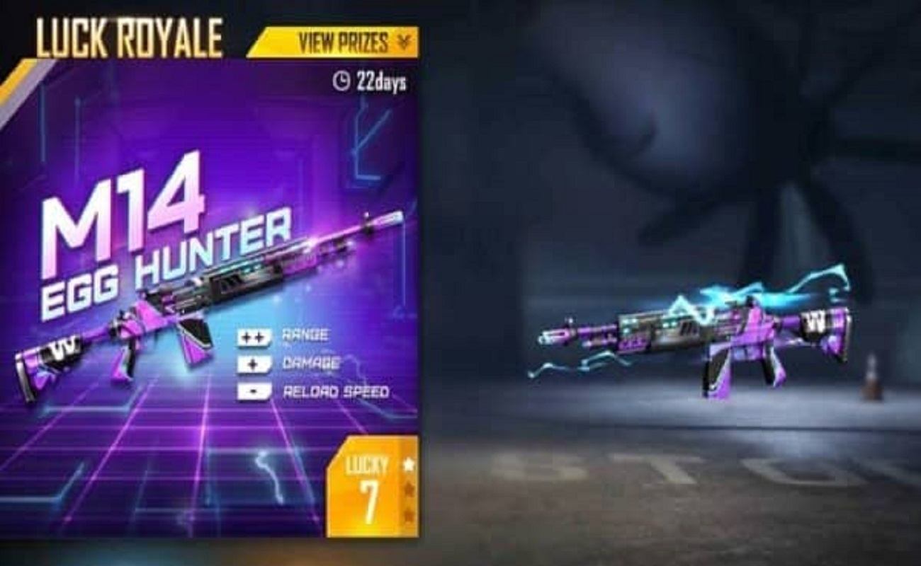 M14 Egg Hunter in Free Fire