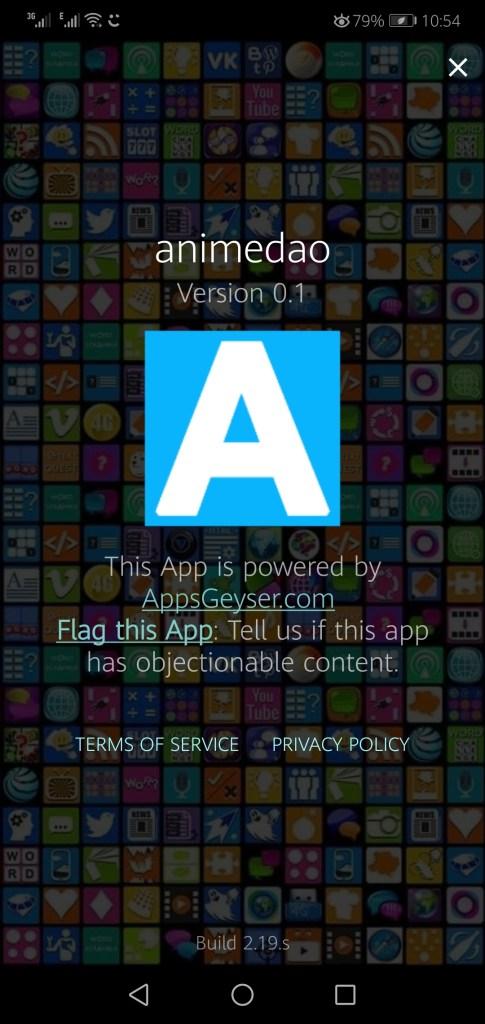 Screenshot of Animedao Apk