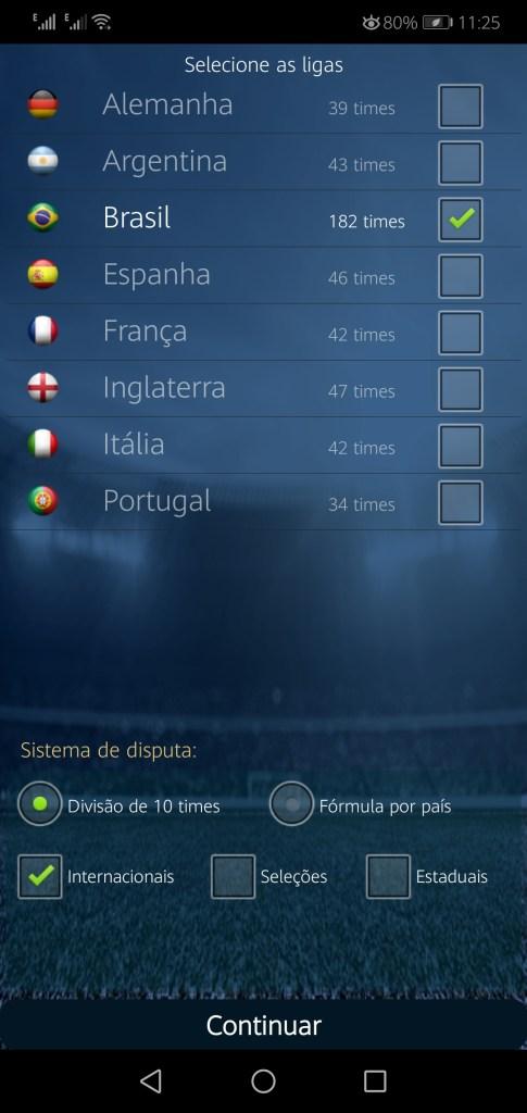 Screenshot of BrasFoot 2021 Premium App