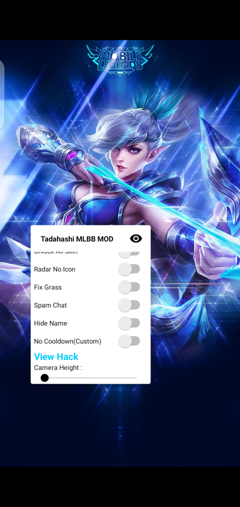 Screenshot of Tadahashi MLBB Apk