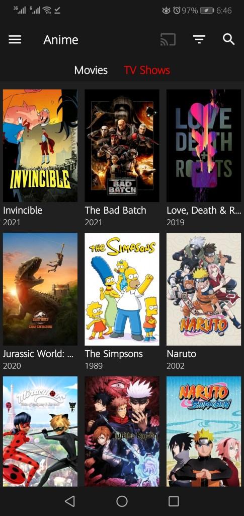Screenshot of Netflix Pro Mod Apk