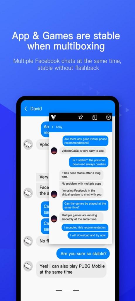 Screenshot of Vphonegaga App Apk