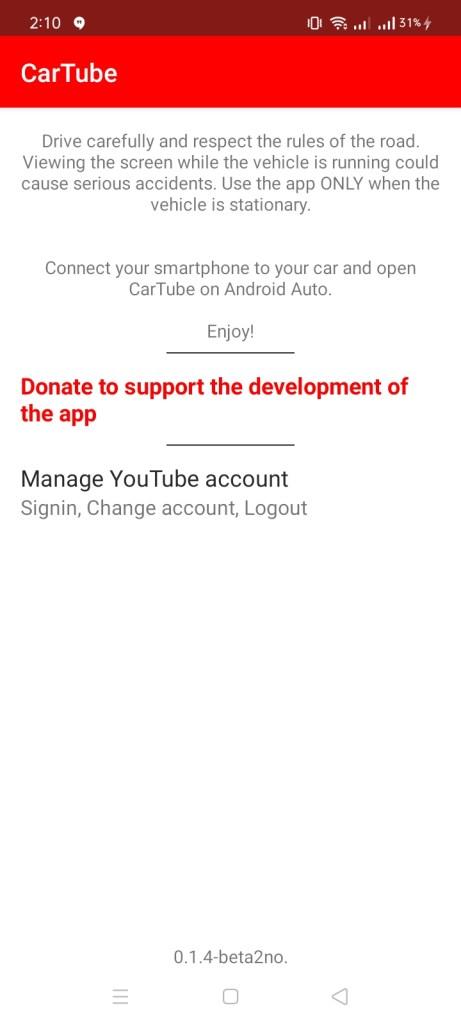 Screenshot of CarTube Apk