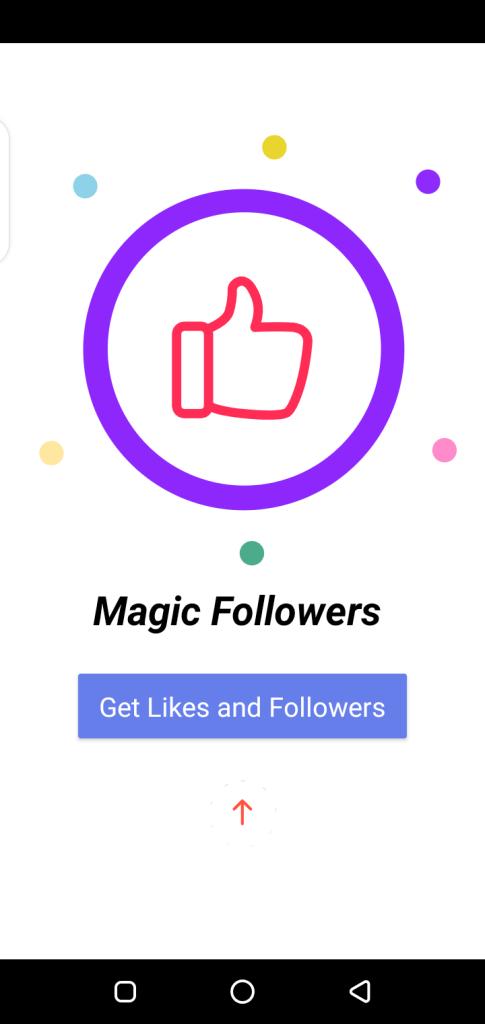 Screenshot of Magic Followers Apk