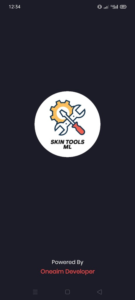 Screenshot of Skin Tools ML