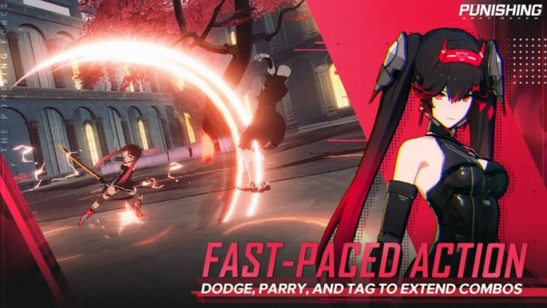 Screenshot of Punishing Gray Raven Global Game