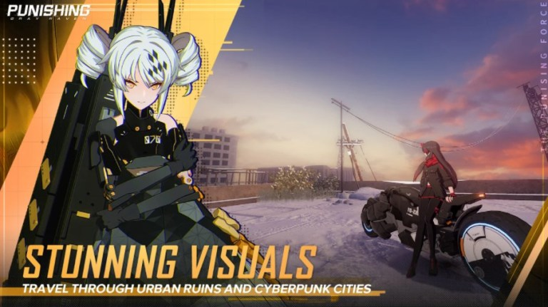 Screenshot of Punishing Gray Raven Global Mobile