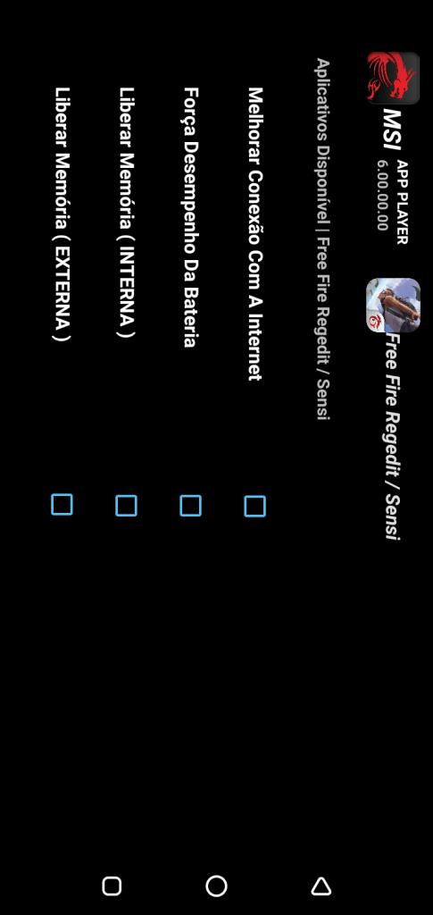 Screenshot of Regedit MSI App