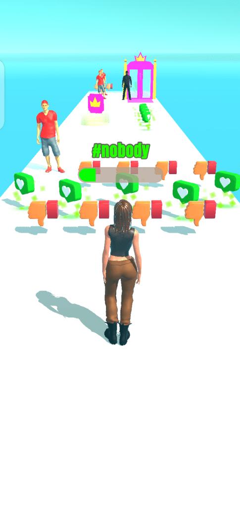 Screenshot of Influencer Rush 3D