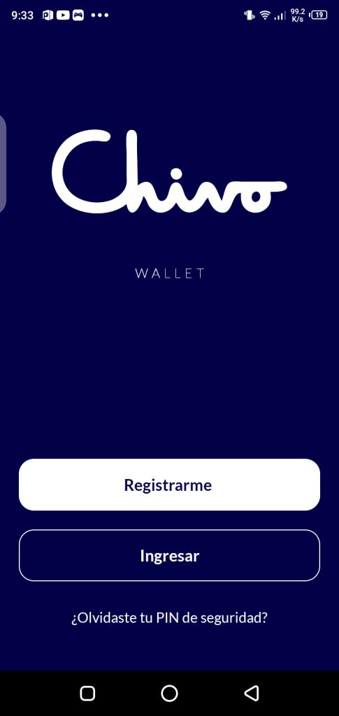Screenshot of Chivo Wallet Apk