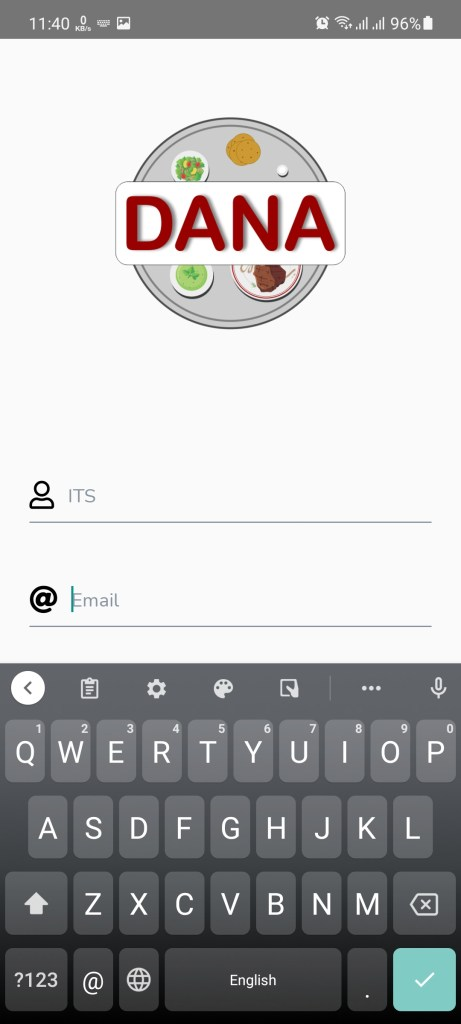 Screenshot of Dana Mod App