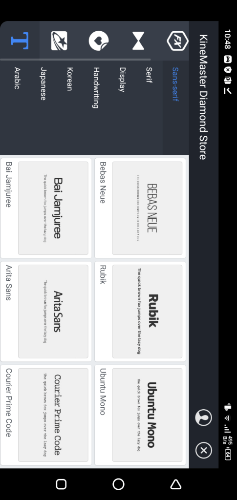 Screenshot of Kinemaster Diamond Mod