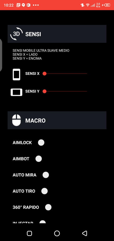 Screenshot of Macro Space v2