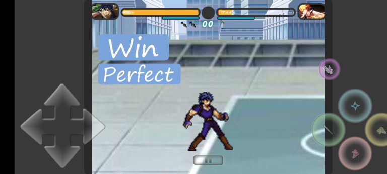 Screenshot of Jump Force Mugen Game
