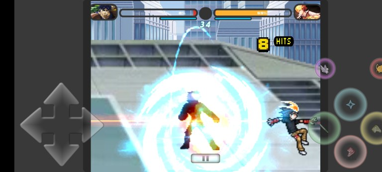 Screenshot of Jump Force Mugen  For Android
