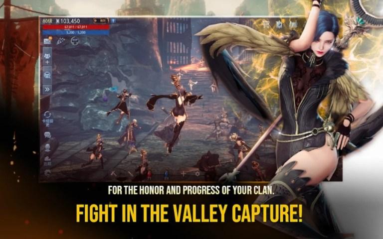 Screenshot of Mir4 Game