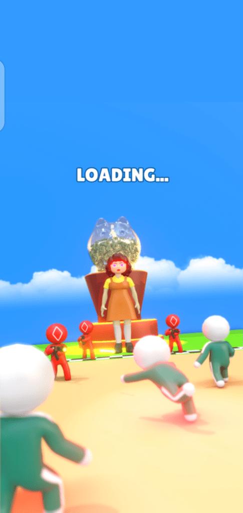 Screenshot of Squid Royale Game